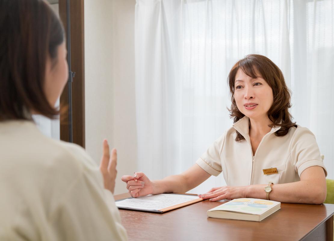 たんぽぽ鍼灸院の不妊治療の診察の流れ